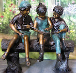 ../Three Children on a Log
