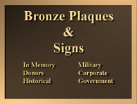 ../Bronze Plaques Signs Memorials & Emblems