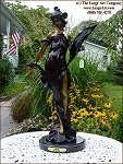 Diane bronze sculpture statue